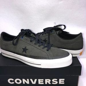 NEW Converse One Star Pro Ox Cast Iron Suede Low